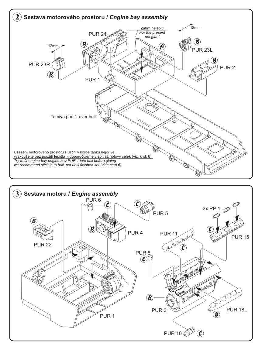 cmk kits eshop Turbine Engine Helicopter instructions