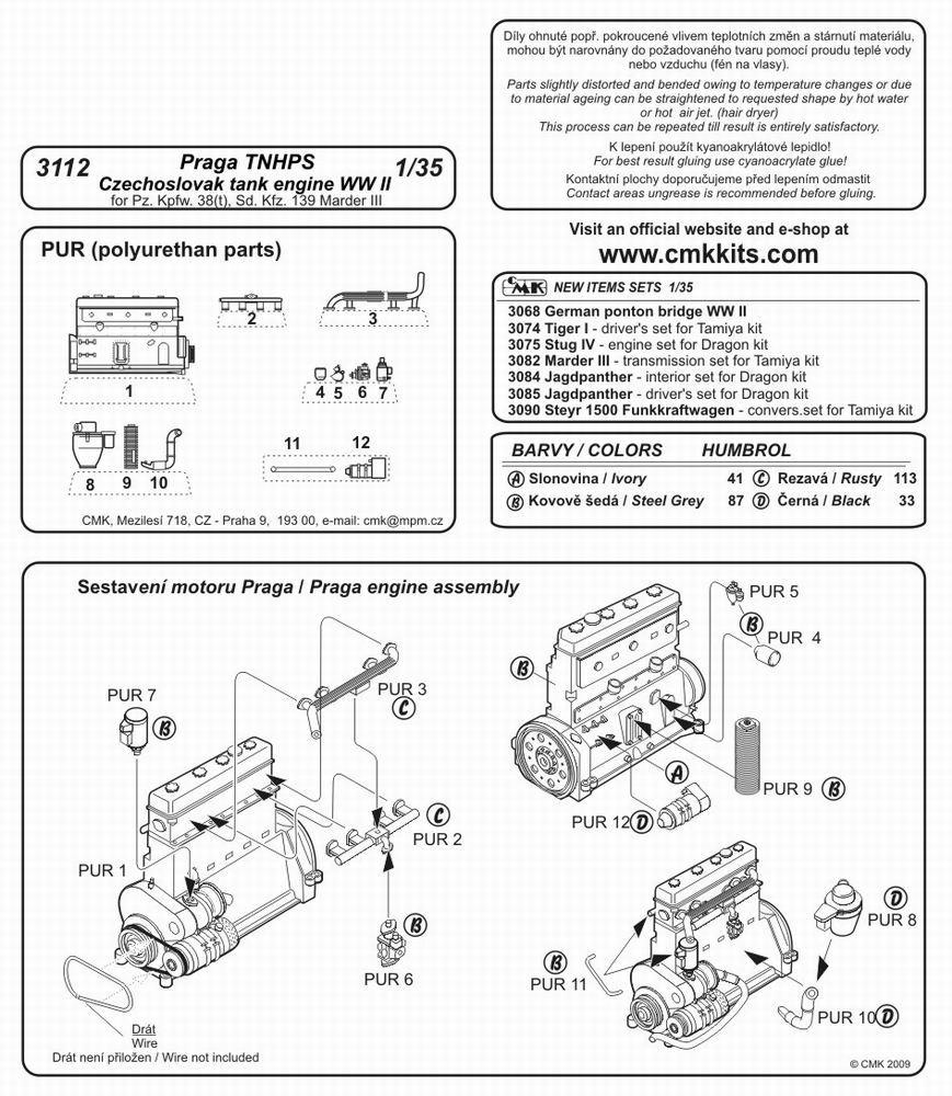 Cmk Kits Eshop Tank Engine Diagram 1