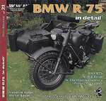 BMW R75 WWII motorcycles in detail