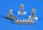 U-boat U-IX – Crew returning from a cruise part. II (3 fig) 1/72 for Revell kit