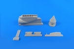 BAC Lightning (for any version) – 1/48 Front Undercarriage Bay Set for Airfix/Eduard  kit