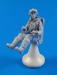 British Tempest Pilot, sitting, for 1/32 Special Hobby kit