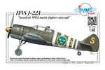 "FFVS J-22A ""Swedish WW2 main fighter aircraft"" 1/48"