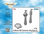 1/72 U-Boot IX Exterior Set Part II, for Revell kit