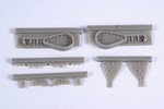 1/48 J2M3 Raiden (Jack) – Undercarriage set